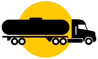 Icon image of tanker truck